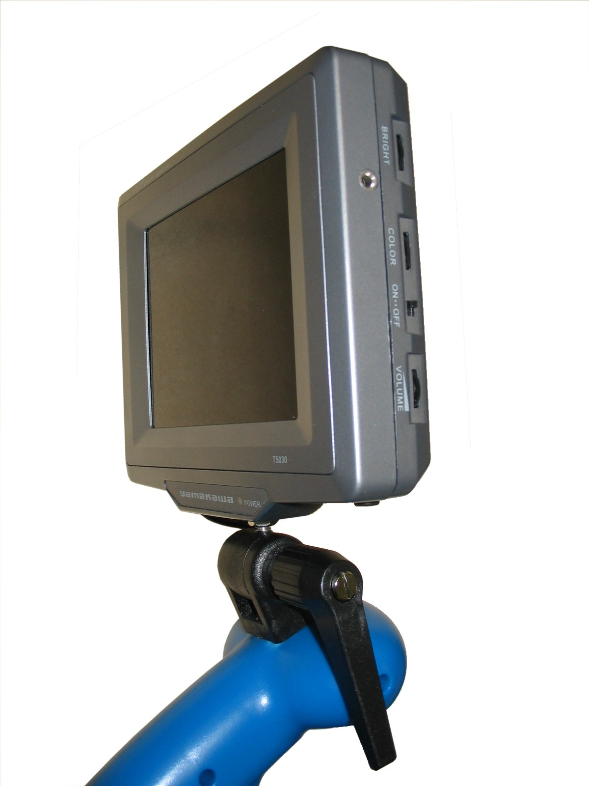 Pagix Under Vehicle Search Device Em1ir Contrast Control For Lcds The Display Has A 6 Tft Lcd Colour Screen With Manual Brightness And In Pivoting Heavy Duty Metal Housing